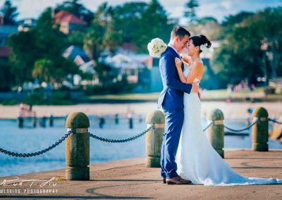 Alternative wedding photography location near to club house
