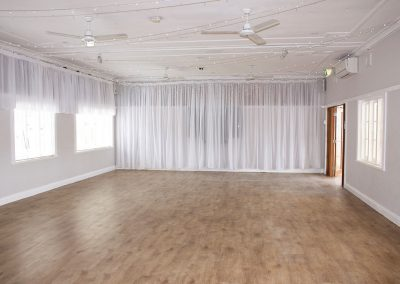 Hall-With lights & drapes