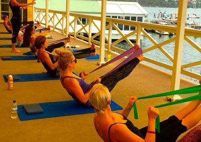 Balcony-Exercise class