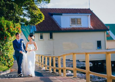 Wedding location shot near to club house