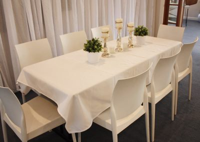 Hall-MYC Chairs & table