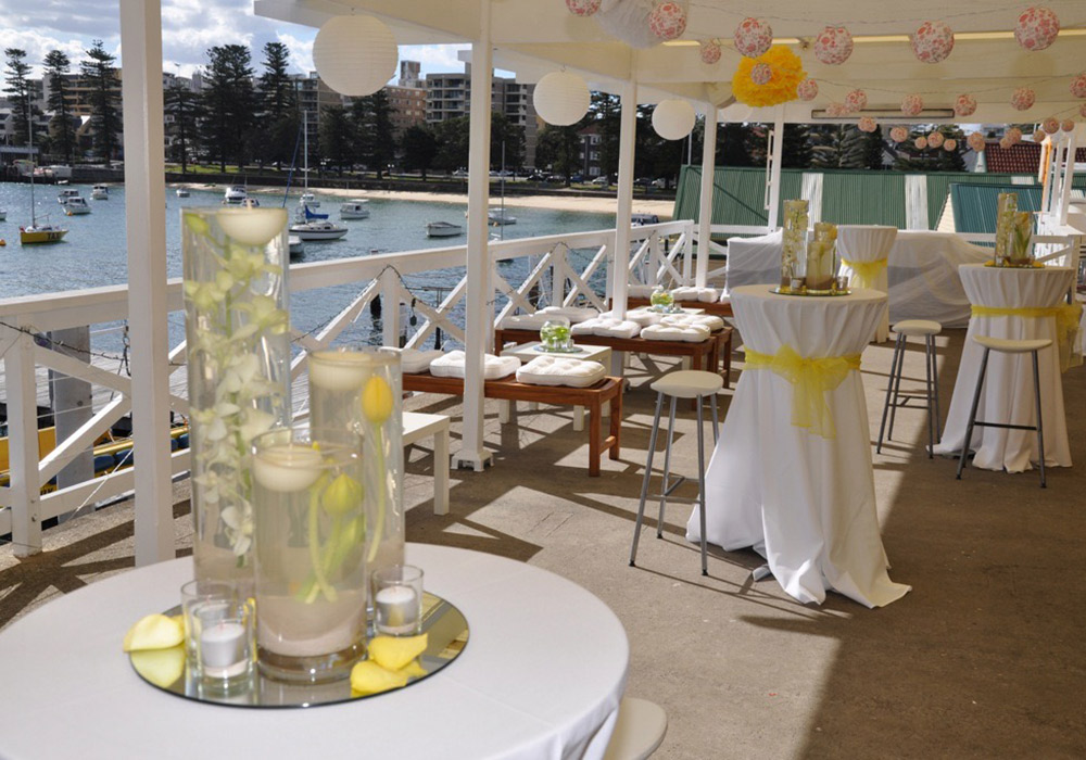 The Balcony Manly Yacht Club Venue Hire
