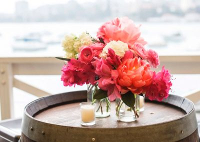 Balcony-Wedding planner flowers