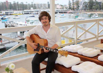 Balcony-Musician