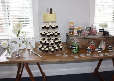 Catering-Dessert table