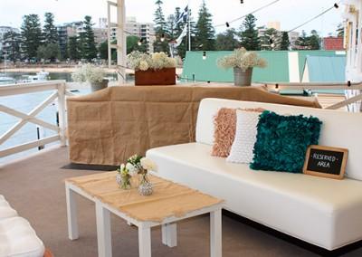 Manly-Yacht-Club-Balcony-BBQ-&-sofa