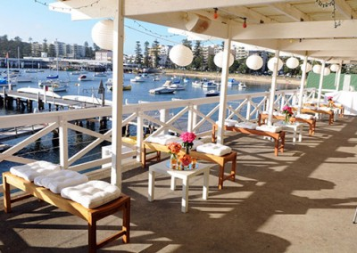 Manly-Yacht-Club-Balcony-with-benches-&-white-theme-2