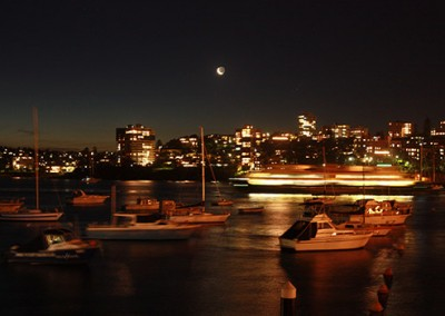 Manly-Yacht-Club-balcony-view-at-night