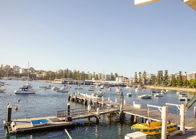 Manly-Yacht-Club-balcony-view-to-Manly-Wharf